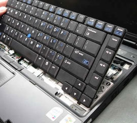 laptop keyboard repair poole bournemouth