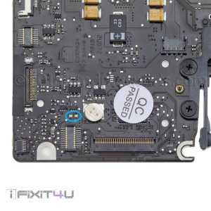 Macbook Pro unibody 13 A1278 Late 2008 820-2327-A power on pads