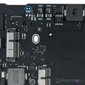Macbook air A1369 Late 2010 820-2838-A power on pads
