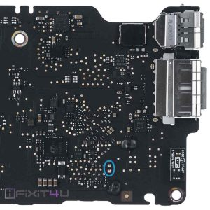 Macbook air A1465 Early 2014 820-3435-A, 820-3435-B power on pad location